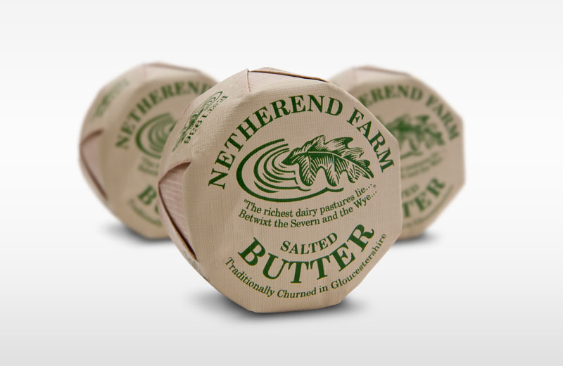 Netherend Farm Salted Butter Portions