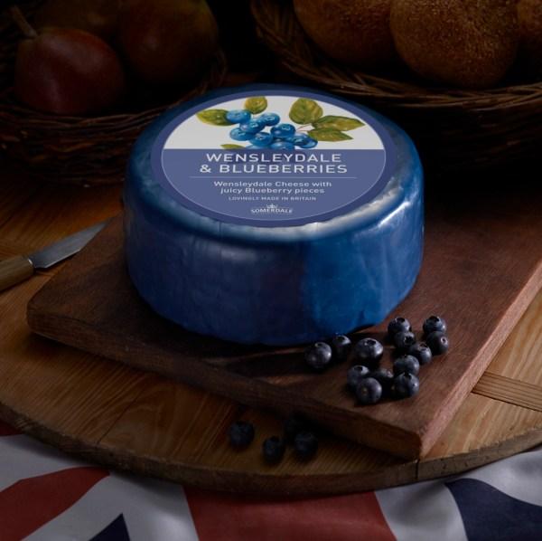 Somerdale Wensleydale with Blueberries