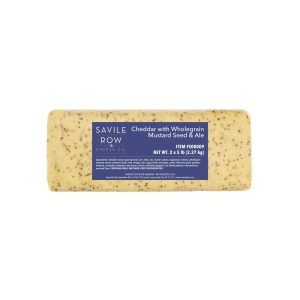 Savile Row Cheddar with Mustard Seed and Ale