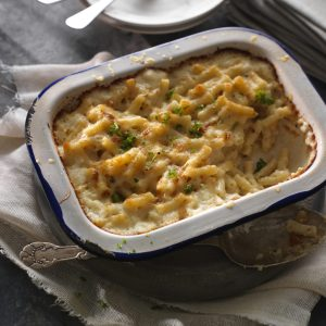 Macaroni Cheese and Cheddar Cheese Recipe