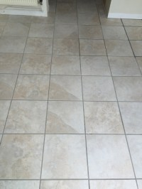 Tile Cleaning and Grout Recolouring of White Pitted ...