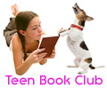 Ad graphic with link for Teen Online Book Club