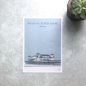Weston-super Mare Print