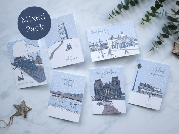 Somerset Christmas Card Pack of 6