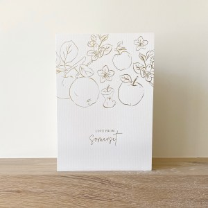 greeting card from somerset