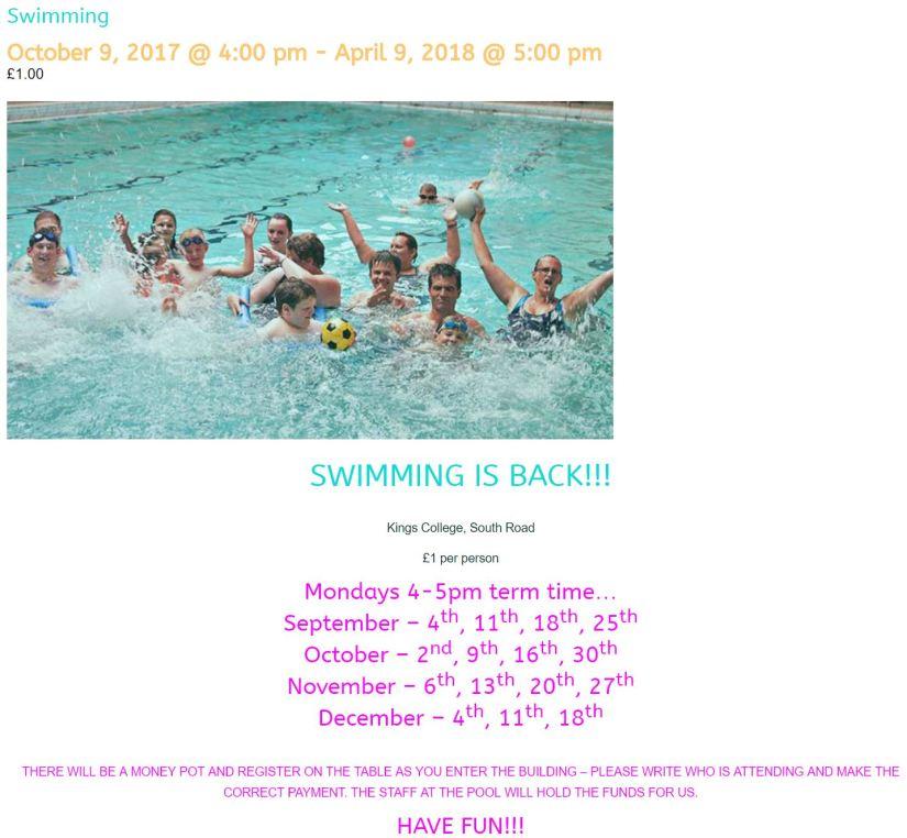 Escape swimming 1