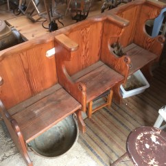 Bistro Tables And Chairs Dining Chair Set Interesting Victorian 3 Seater Stripped Pitch Pine Church Pew Bench Seat 6ft Somerset South West ...