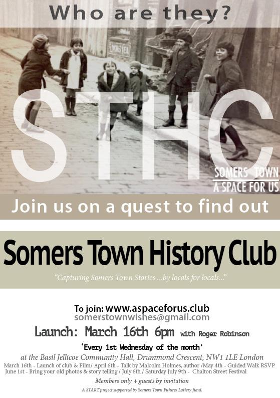 History Club flyer.