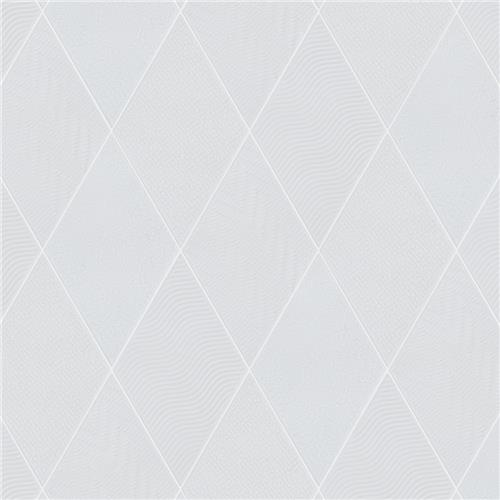 rhombus white 5 1 2 x9 1 2 porcelain f