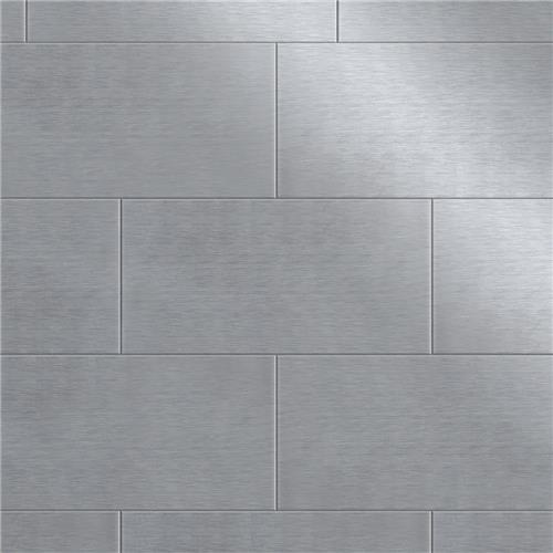 x6 stainless steel porcelain w tile