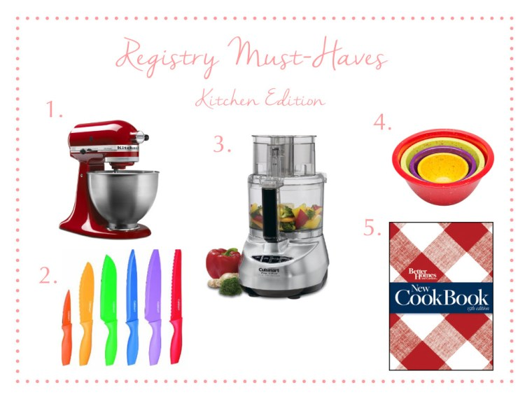 Registry Must-Haves - Some Shananagins
