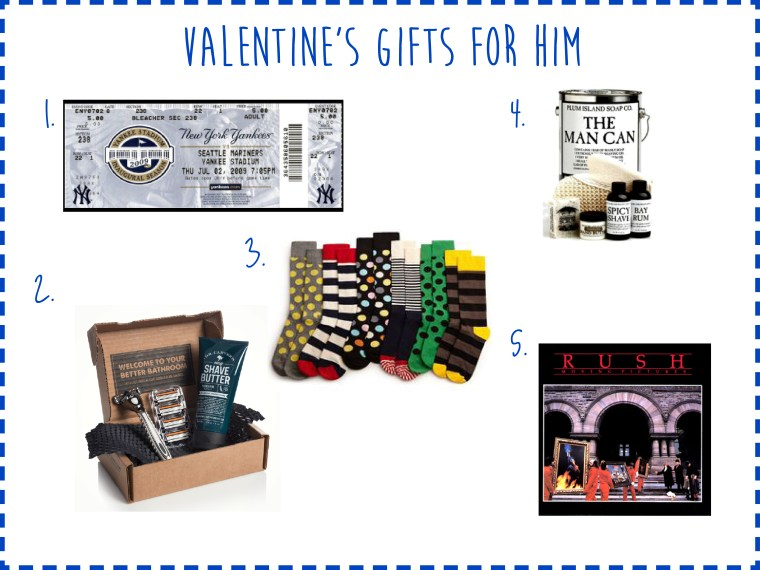 Valentine's Gifts for Him - Some Shananagins