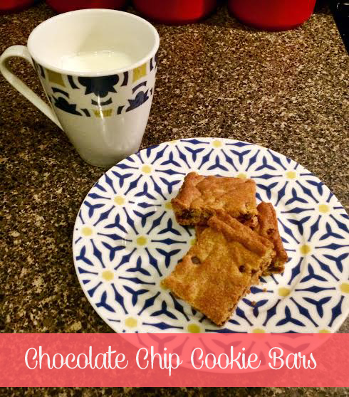 Recipe Review: Chocolate Chip Cookie Bars - Some Shananagins