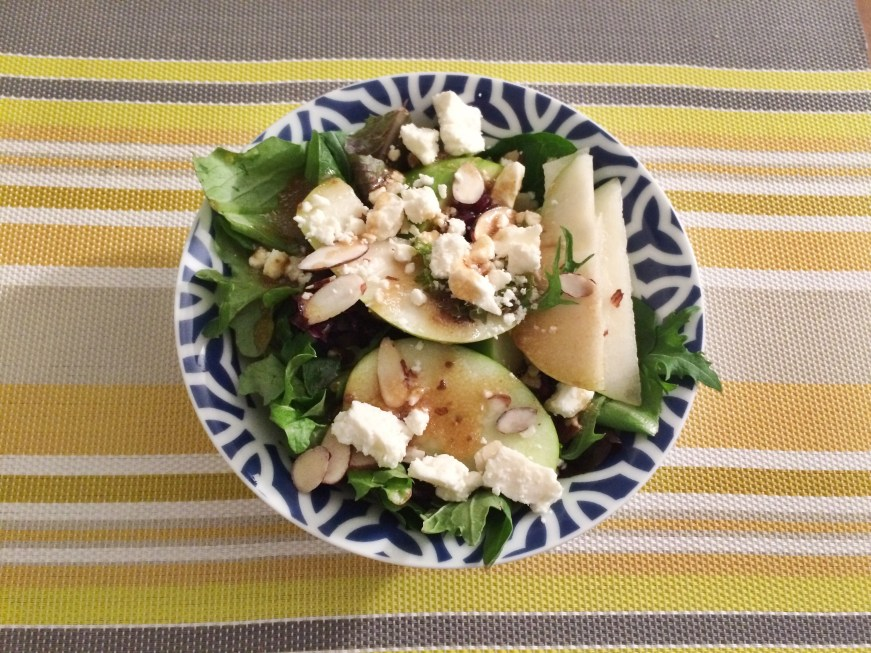 Apple & Pear Spring Salad - Some Shananagins