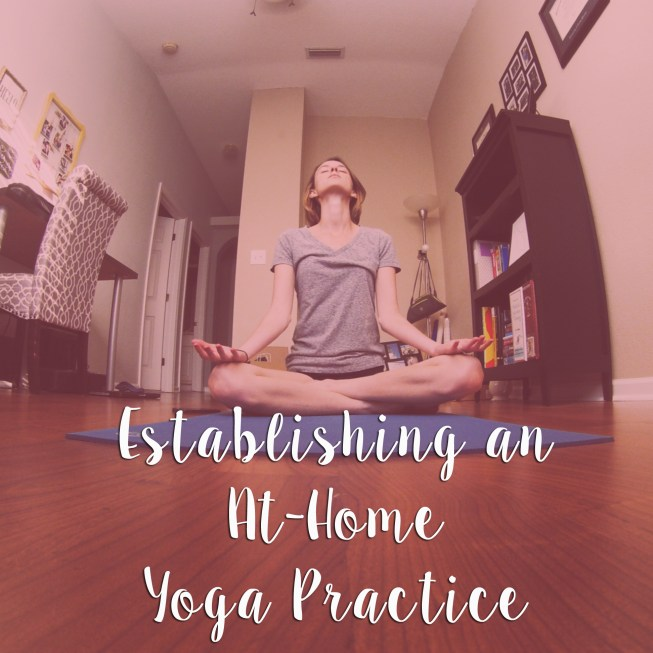 Establishing an At-Home Yoga Practice - Some Shananagins