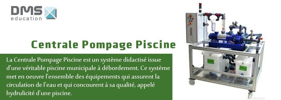 Centrale Pompage Piscine