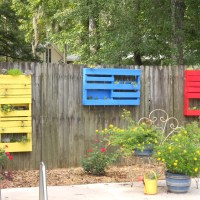 Pallet Project #1 - How To Make Hanging Planters