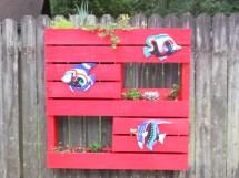 Pallet Project #1 Make Hanging Planters