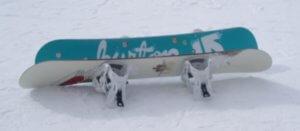 snowboards waxen