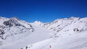 glacier Austria frozen