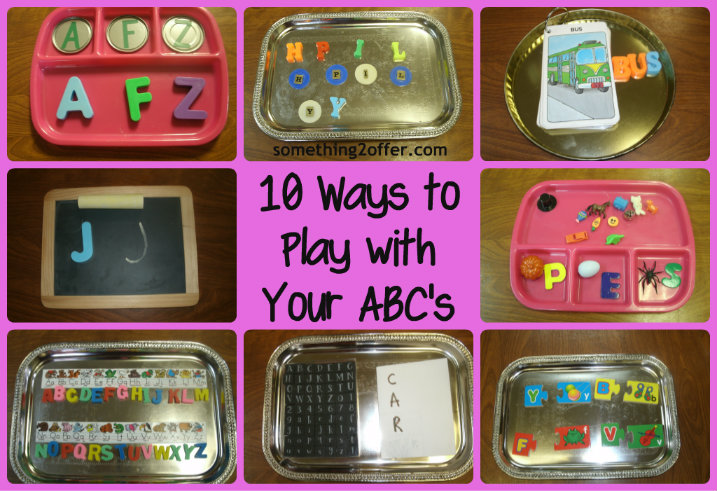 Ways to Play with ABC's