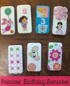 Princess' Birthday Dominoes
