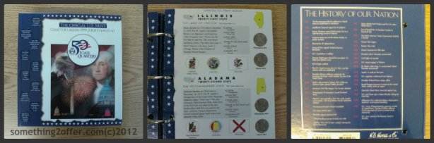 State Quarter Collectors book