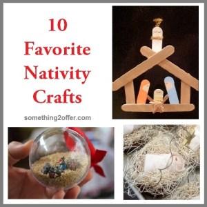 10 nativity crafts