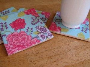 napkin coasters