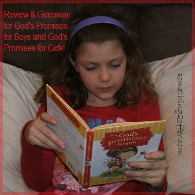 God's Promises for Boy and Girls review and giveaway