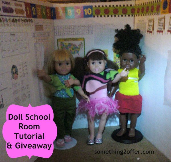 3 dolls on schoolroom1 - Fundraiser by Nakia Bowling : 2016 Great Doll Giveaway