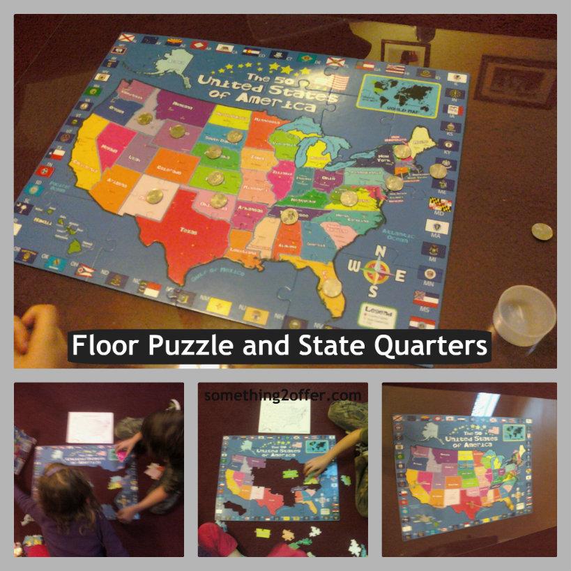 floor puzzle state quarters