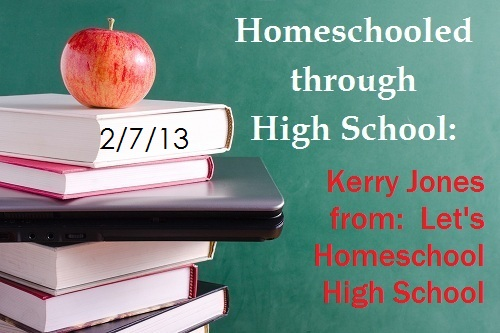 Kerry Jones from Let's Homeschool High School