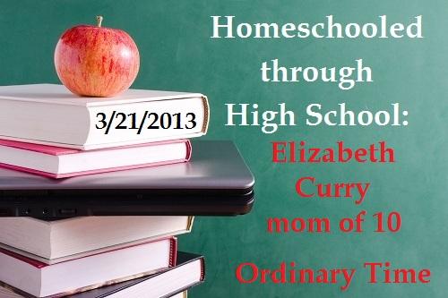 Elizabeth Curry Ordinary Time