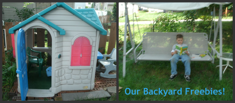 backyard freebies