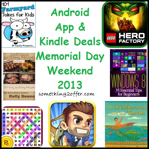 android app and kindle deals