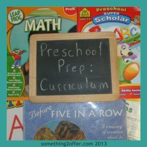 preschool prep curriculum