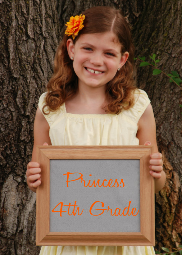 Princess 4th grade