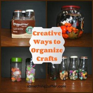 creative craft organize Collage