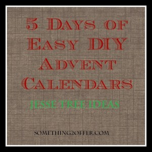 5 days DIY Advent jesse
