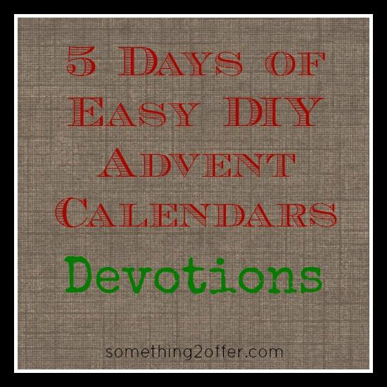 5 days DIYdevotions