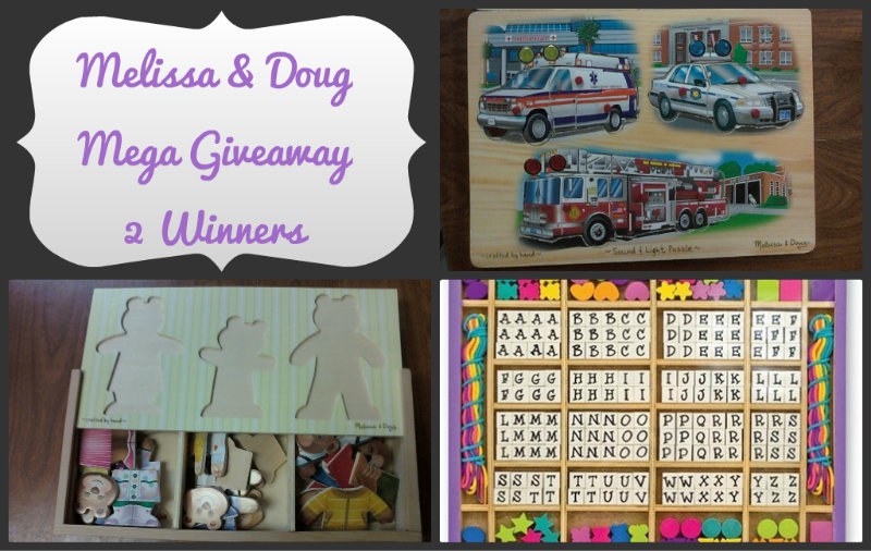 Melissa & Doug Collage