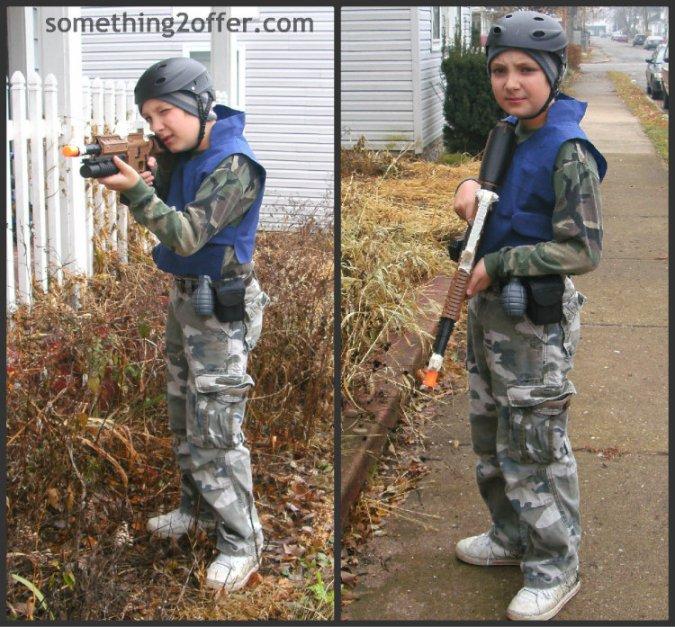 army boy Collage