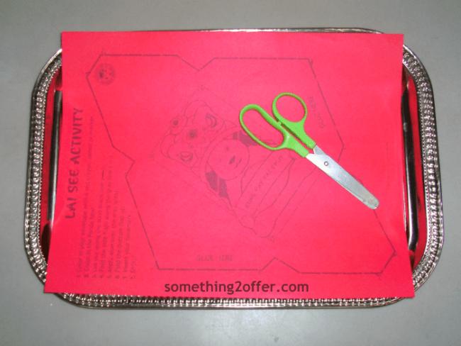 red envelope cutting practice