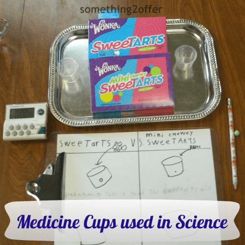 Medicine cups for Science