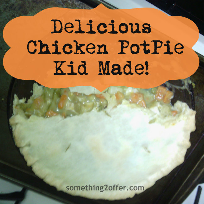 delicious chicken potpie