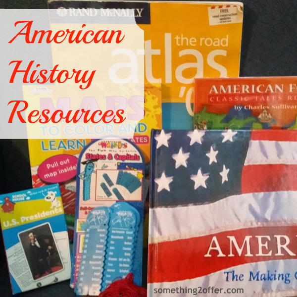 American History Resources we own #AmericanHistory