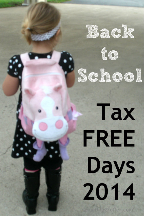 Back to School Promotions #TaxFree 2014
