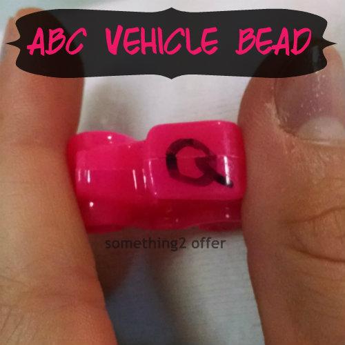 ABC Vehicle Beads Q Model T