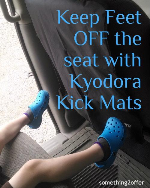 feet off seet with kyodora kickmats